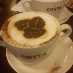 Photo taken at Costa Coffee by Greg Alli M. on 3/23/2013