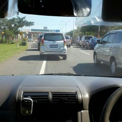 Photo taken at Gerbang Tol Parangloe by Sherly J. on 6/13/2015