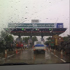 Photo taken at Gerbang Tol Cambaya by Sherly J. on 1/24/2014