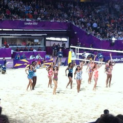 Photo taken at London 2012 Horse Guards Parade by Lisa M. on 9/20/2012