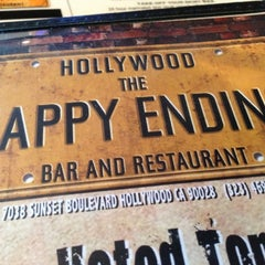 Photo taken at The Happy Ending Bar & Restaurant by Yael S. on 10/2/2012