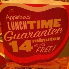 Photo taken at Applebee's by Garrett S. on 10/2/2012