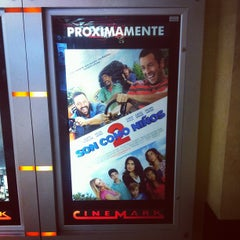 Photo taken at Cinemark City Mall by Charlie E. on 5/11/2013