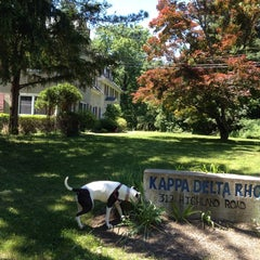 Photo taken at Kappa Delta Rho by Mark on 6/7/2014