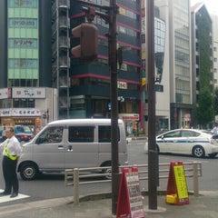 Photo taken at 大門 交差点 by w m. on 9/24/2015