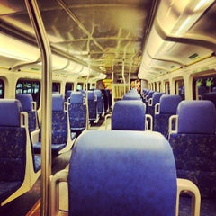 Photo taken at GO Train - Lakeshore West by Aimless A. on 1/25/2013