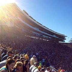 Photo taken at California Memorial Stadium by Kevin on 9/8/2013