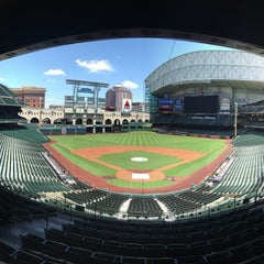 Photo taken at Minute Maid Park by Jeffrey P. on 7/18/2013
