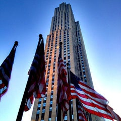 Photo taken at Rockefeller Center by Jeffrey P. on 7/5/2013