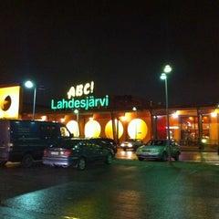 Photo taken at ABC Lahdesjärvi by Joonas R. on 12/30/2013