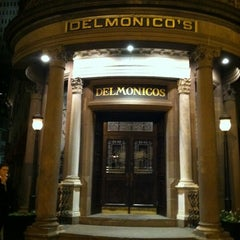Photo taken at Delmonico's Restaurant Steak House Grill by Jimmy P. on 10/13/2012