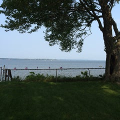 Photo taken at Gaspee point by Carol S. on 7/6/2015