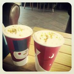 Photo taken at Starbucks University Center by Veronica O. on 11/18/2012