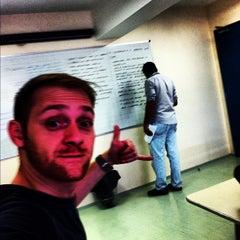 Photo taken at Universidade Cruzeiro do Sul - Campus Pinheiros by Hugo M. on 10/27/2012
