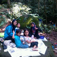 Photo taken at Waterfall, Forest Research Institute of Malaysia by Zainul E. on 3/30/2013
