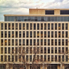 Photo taken at Lyndon Baines Johnson Department of Education Building by Josh F. on 12/18/2013
