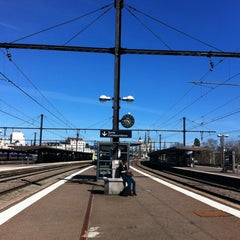 Photo taken at Gare SNCF de Dijon Ville by Christel L. on 4/14/2013