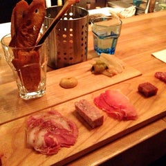 Photo taken at Le Comptoir (charcuteries et vins) by Mark W. on 10/11/2012
