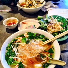 Photo taken at Pho Pasteur by amy f. on 12/15/2014