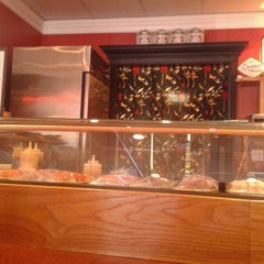 Photo taken at Sushi House by Michelle J. on 10/25/2012