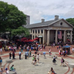 Photo taken at Quincy Market by chrix on 6/29/2013