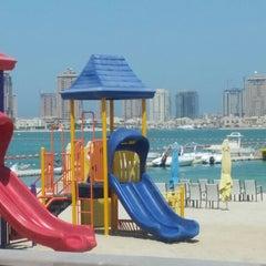 Photo taken at Al Yazwa Public Beach by Ahmed B. on 9/3/2014