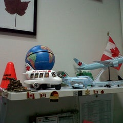 Photo taken at Air Canada back office by Carlos B. on 4/2/2013