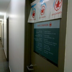Photo taken at Air Canada back office by Carlos B. on 10/8/2012