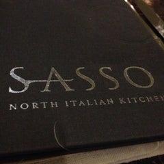 Photo taken at Sasso by Sami E. on 11/27/2012