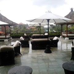 Photo taken at Ayodya Resort Bali by Danny K. on 5/12/2014