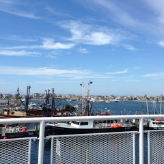 Photo taken at The Block Island Ferry by Erin F. on 7/8/2013