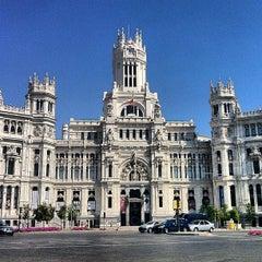 Photo taken at Palacio de Cibeles by Guero V. on 7/8/2013