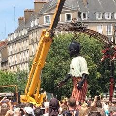 Photo taken at Marché de la Petite Hollande by Delph R on 6/9/2014
