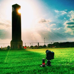 Photo taken at Albritton Bell Tower by Matt J. on 7/29/2013