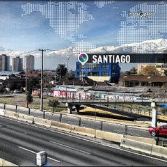 Photo taken at Autopista Central by Mauricio P. on 5/29/2013