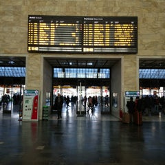 Photo taken at Stazione Firenze Santa Maria Novella by Abdullah A. on 1/12/2013