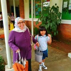Photo taken at Mentari International School Bintaro by Muhammad H. on 10/26/2013