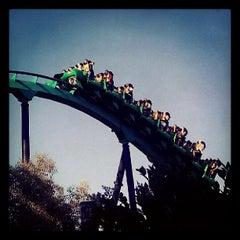 Photo taken at Six Flags Magic Mountain by Lewis C. on 5/12/2013