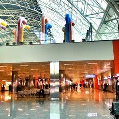 Photo taken at İzmir Adnan Menderes Airport (ADB) by Sina on 10/25/2013