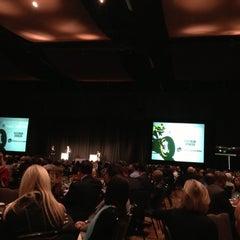 Photo taken at Meydenbauer Theatre by Sarah B. on 10/12/2012