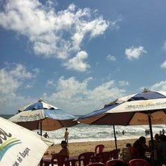 Photo taken at Barraca Terra do Sol by Neyara F. on 11/18/2012