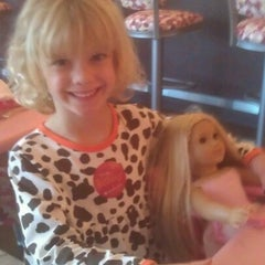 Photo taken at American Girl Boutique & Bistro by Brandon B. on 9/23/2012