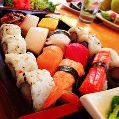 Photo taken at Cilantro Thai & Sushi by Drew F. on 5/23/2013