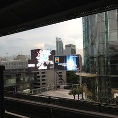 Photo taken at BTS สยาม (Siam) CEN by Jureeratn R. on 4/27/2013