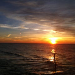 Photo taken at Clearwater Beach by Younghye J. on 12/31/2012