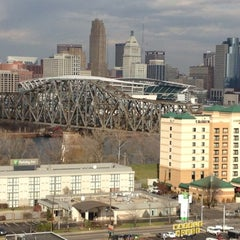 Photo taken at Radisson Hotel Cincinnati Riverfront by Jennifer H. on 11/30/2012