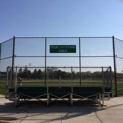 Photo taken at Northeast Athletic Fields by Matt D. on 5/18/2014