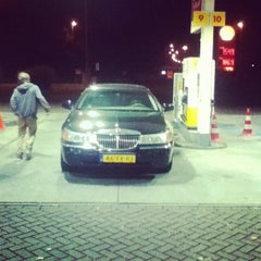 Photo taken at Shell by bram l. on 10/20/2012