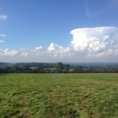 Photo taken at Fordcombe Village by Richard T. on 9/19/2014