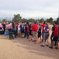 Photo taken at Seton Catholic Preparatory High School by Sterling D. on 1/31/2014